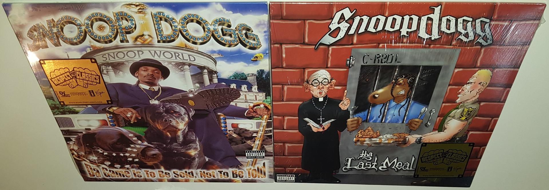 Details about SNOOP DOGG DA GAME IS TO BE SOLD + THE LAST MEAL BRAND NEW  SEALED VINYL LP LOT