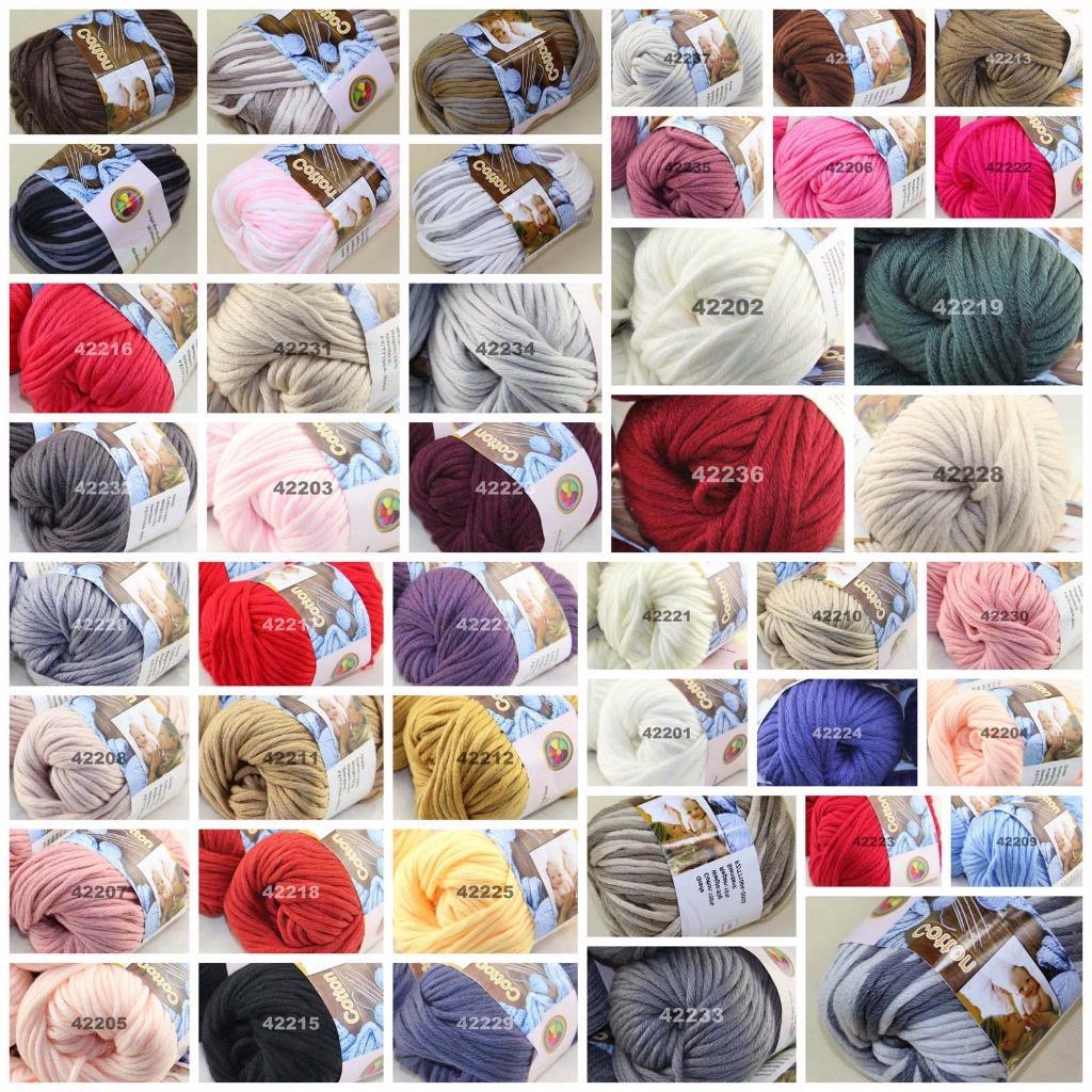 SALE New 6 SkeinsX50g Soft Warm Socks Varied Cotton Baby Hand Knitting Yarn 03