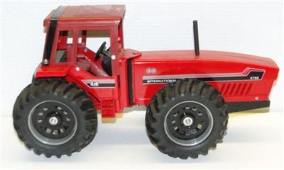 International 6588 2+2 Tractor Custom Add-On Hood Decals 1980s ERTL 1:16 IH 6388