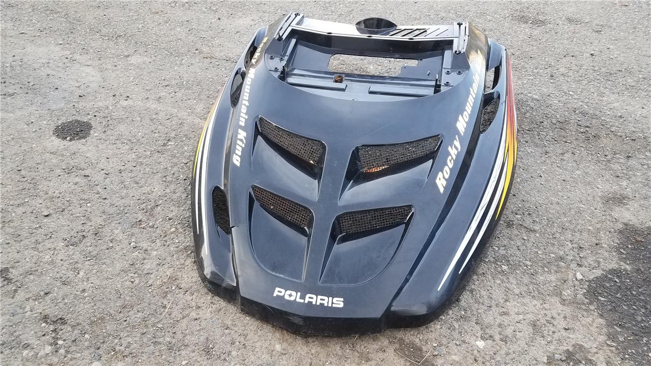 Black Polaris RMK 700 Gen 2 Hood 1999 2000 2001