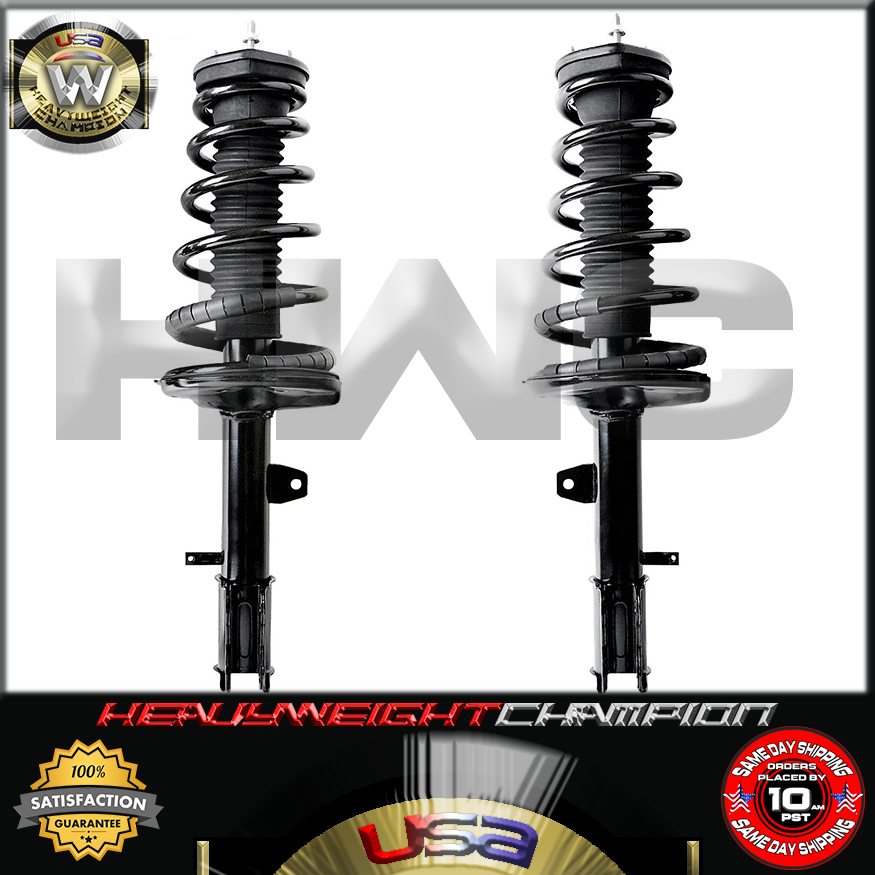 Rear Right Quick Complete Strut /& Spring for 2001-2003 Toyota Highlander AWD