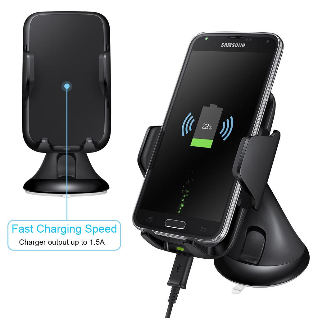 for iphone 7 plus qi wireless charging charger vehicle car. Black Bedroom Furniture Sets. Home Design Ideas