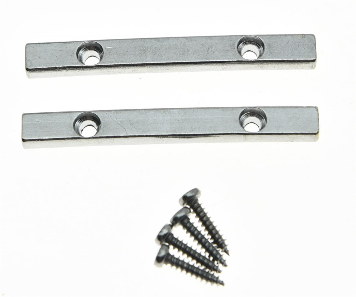 2pcs guitar string retainer bar for floyd rose guitar chrome ebay. Black Bedroom Furniture Sets. Home Design Ideas