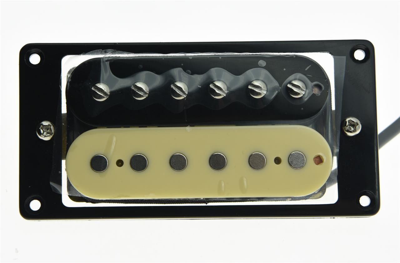 alnico v guitar humbucker neck pickup 50 39 s vintage sound pickups zebra style ebay. Black Bedroom Furniture Sets. Home Design Ideas
