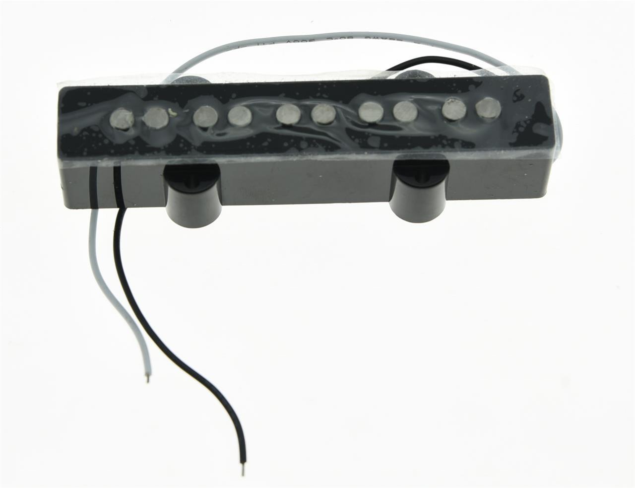 5 string jazz bass alnico 5 neck pickup vintage sound j bass pickups black ebay. Black Bedroom Furniture Sets. Home Design Ideas