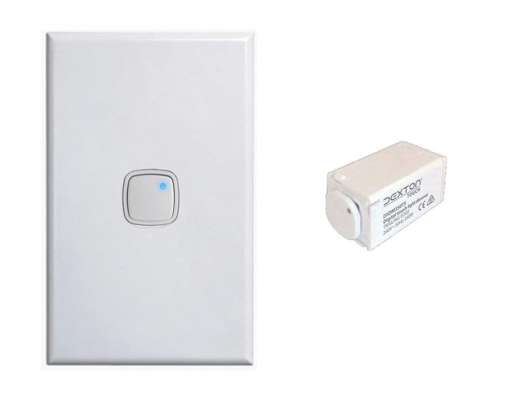 Bluestar Push Button Light Switch Dimmer 2 In 1 1 6