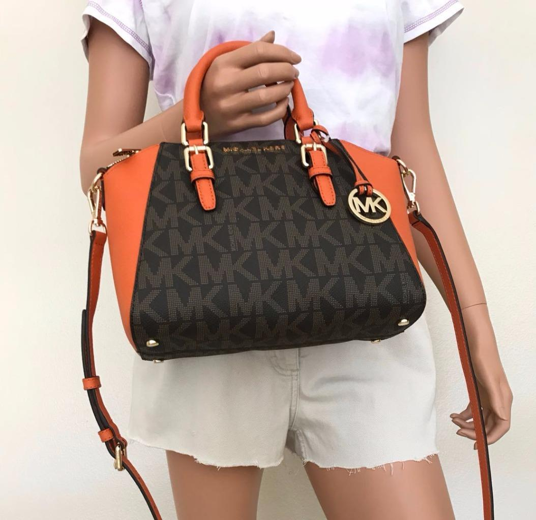 c99e35a9c6f3 New With Tag 100% Authentic This list is for a new Michael Kors Small Ciara  Saffiano Leather Satchel ...