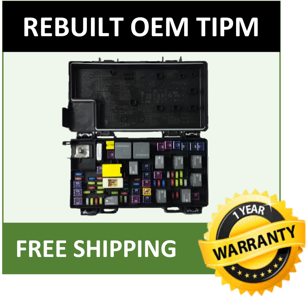 2012 ram 1500 fuse box 2012 dodge ram 1500 oem tipm fuse relay box power module 68089323  2012 dodge ram 1500 oem tipm fuse relay