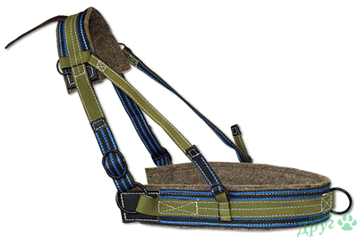 Bridle Horse Collar Pony Cart Driving Harness Halter