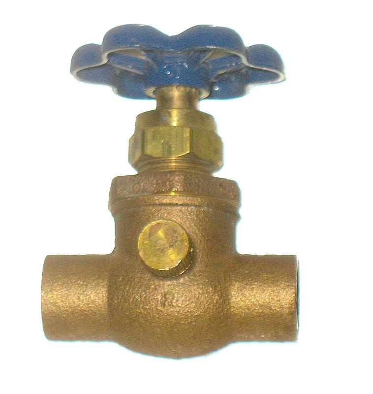 Nibco Brass Stop Amp Waste Valve For 1 2 Inch Pipe Full Port