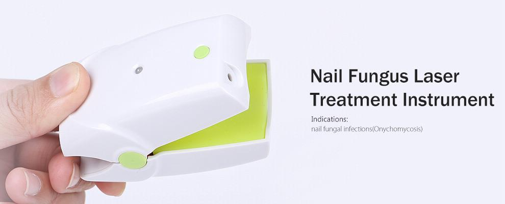 Portable Nail Fungus Laser Therapy Onychomycosis Cure Gray