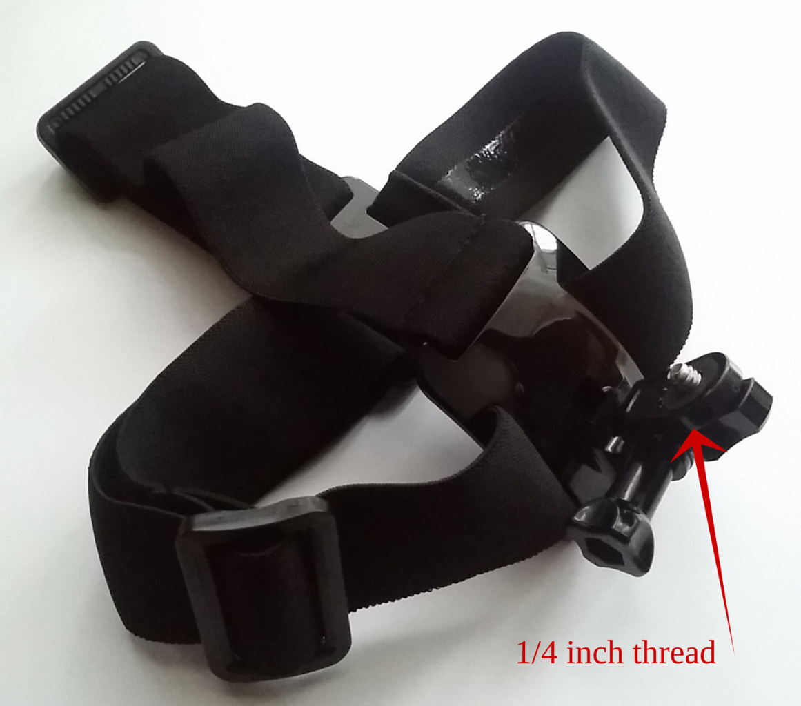 Hand Wrist Strap Harness Mount for Activeon Solar XG CX CX Gold Plus Action Cams