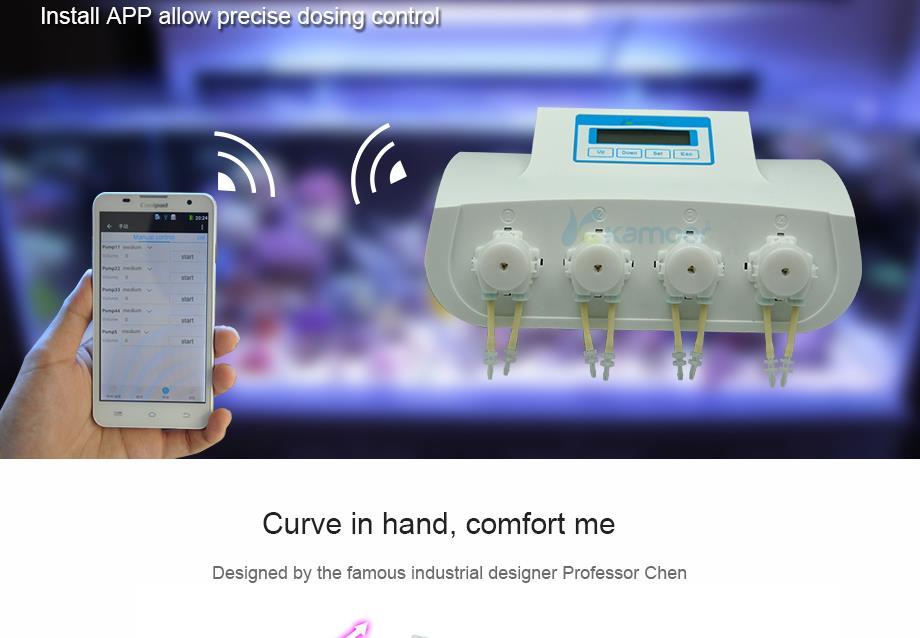 Kamoer X4 Fully Automatic Aquarium Dosing Pump Wifi