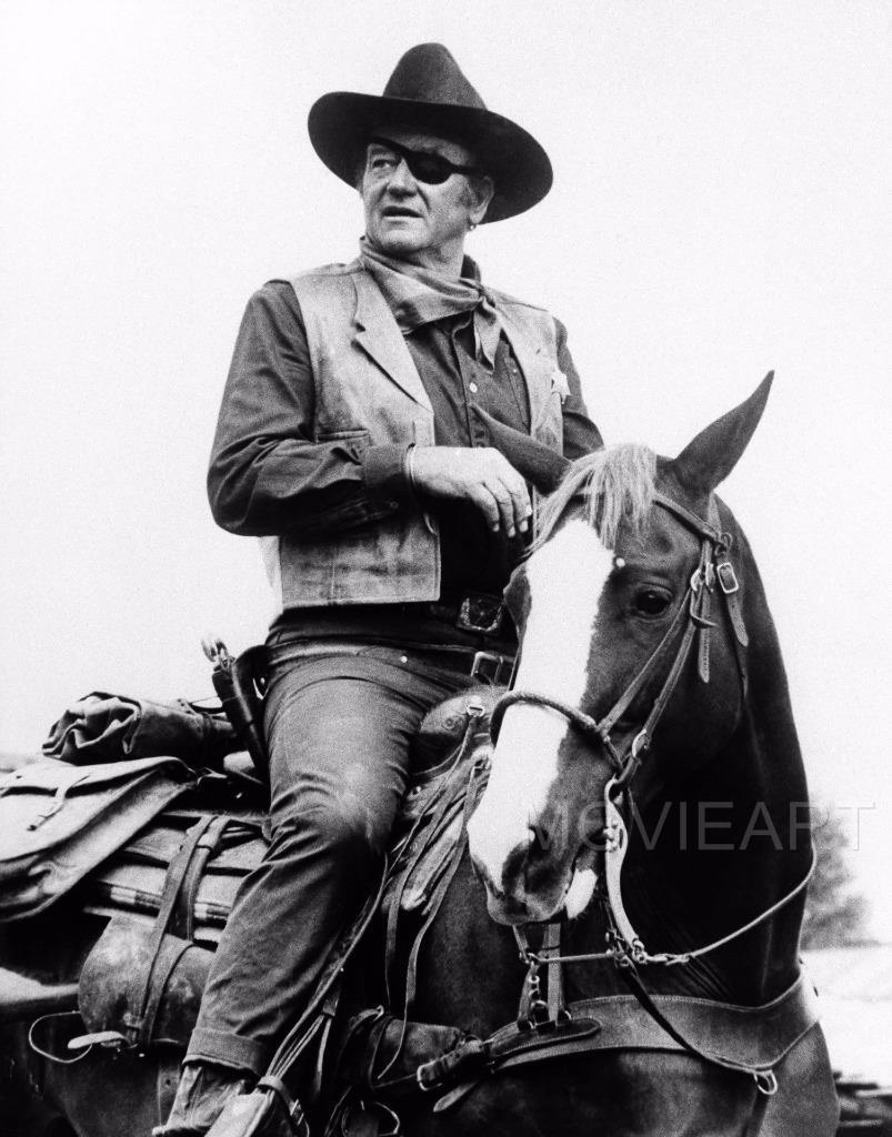 JOHN WAYNE TEXTLESS VINTAGE MOVIE POSTER FILM A4 A3 ART PRINT CINEMA