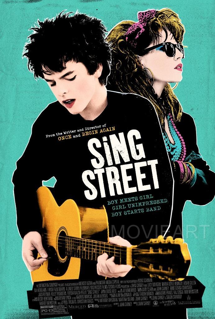 SING STREET MOVIE POSTER FILM A4 A3 ART PRINT CINEMA