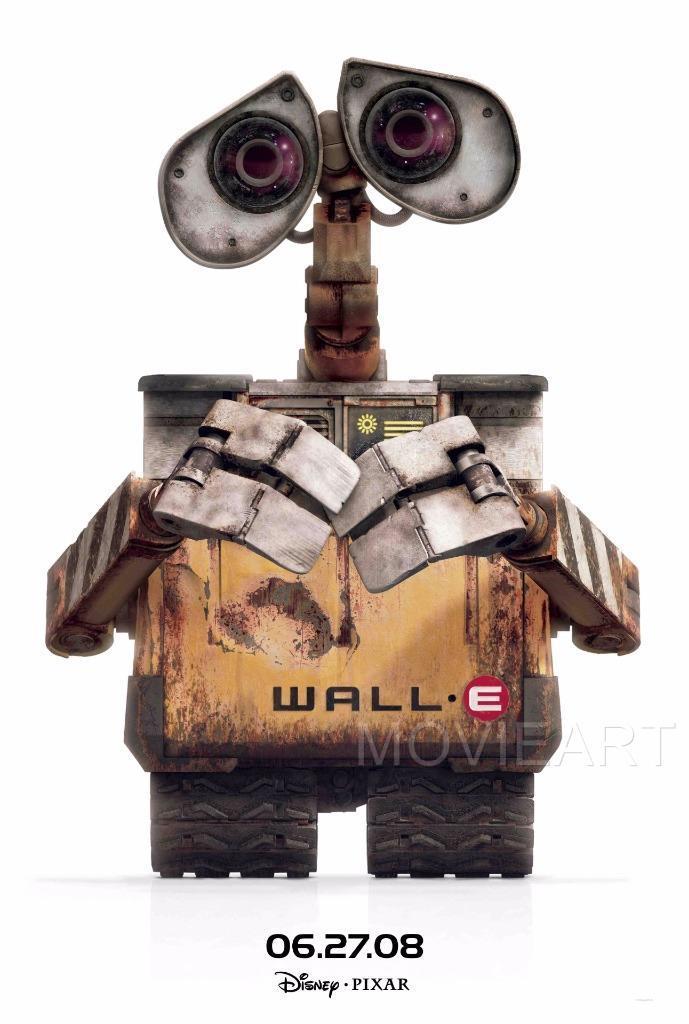 WALL-E DISNEY PIXAR MOVIE POSTER FILM A4 A3 ART PRINT CINEMA