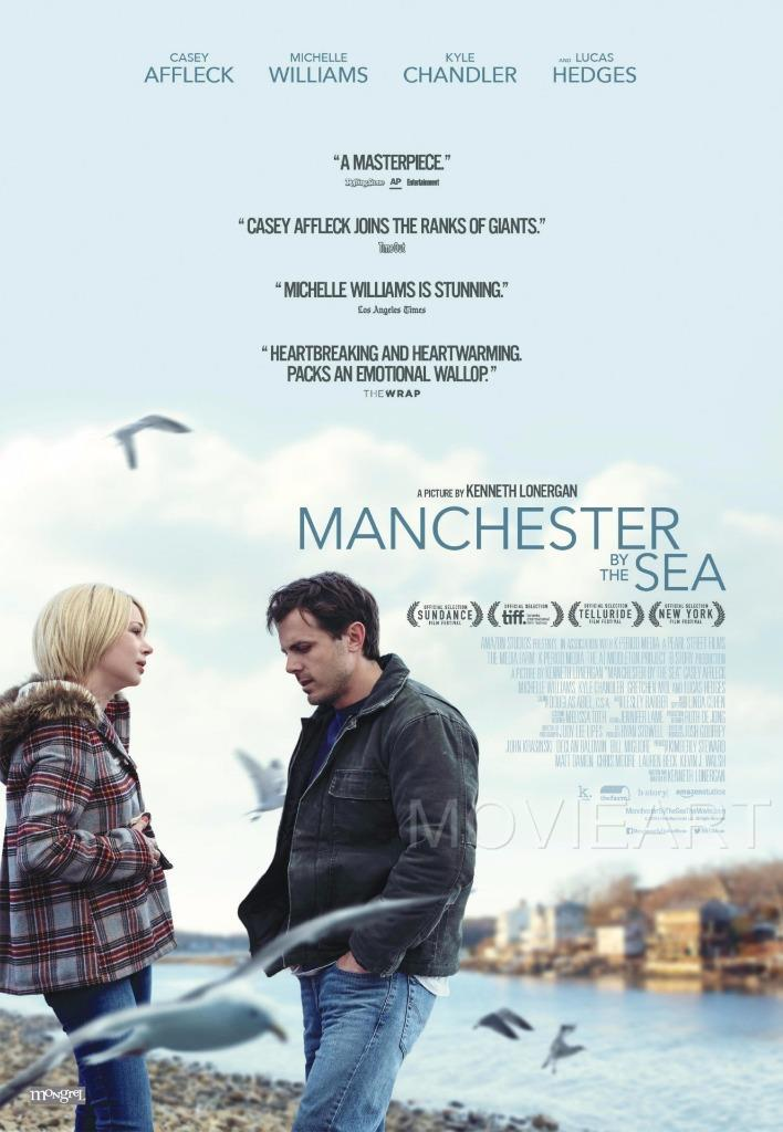 MANCHESTER BY THE SEA MOVIE POSTER FILM A4 A3 ART PRINT CINEMA
