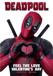 Marvel Deadpool Valentines Day Poster A5 A4 A3 A2 A1 Ebay