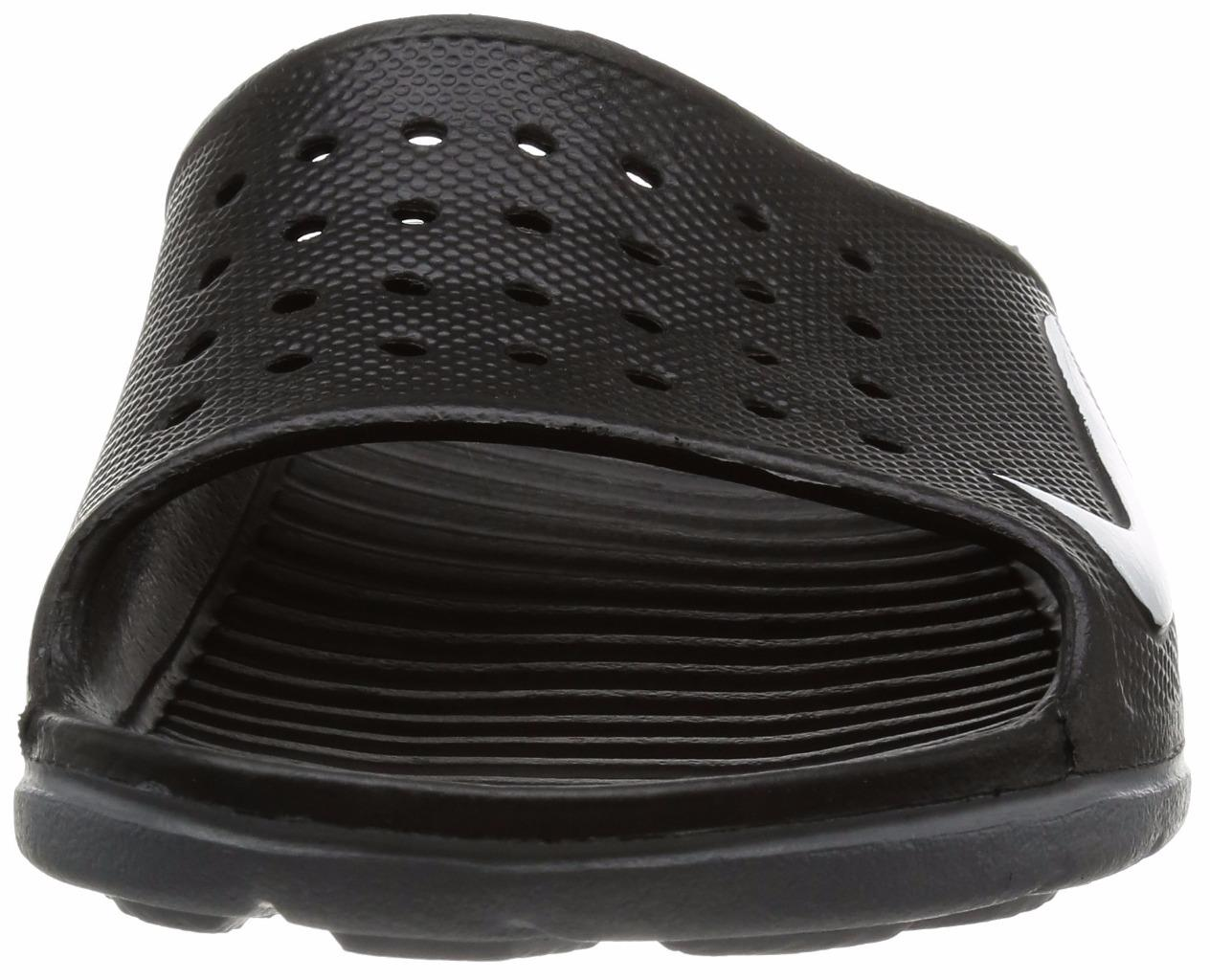 b70d6cf785de New NIKE Solarsoft Slides 386163-011 BLACK Nike Sandals Nike ...