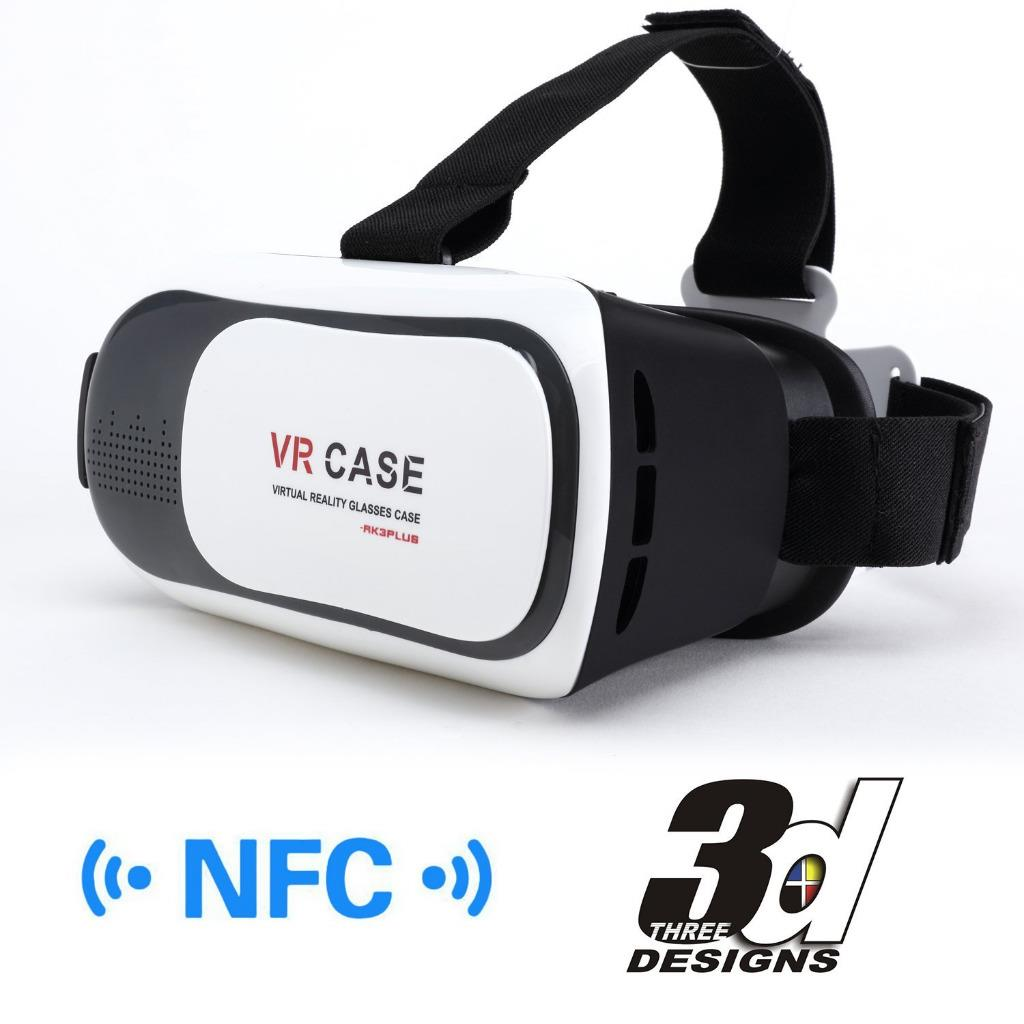 vr virtual reality headset 3d glasses for iphone or. Black Bedroom Furniture Sets. Home Design Ideas