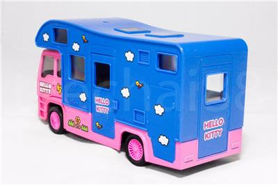 4c0e20bb1 Hello Kitty (The Nine Products) 6 inch Die-Cast Motorhome Truck Model Pink  Color Model Collection (Under License) (Asia Only) Christmas New Gift