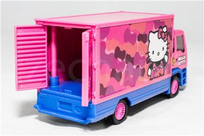 ccf99def2 Hello Kitty (The Nine Products) 6 inch Die-Cast Container Truck Model Pink  Color Model Collection (Under License) (Asia Only) Christmas New Gift