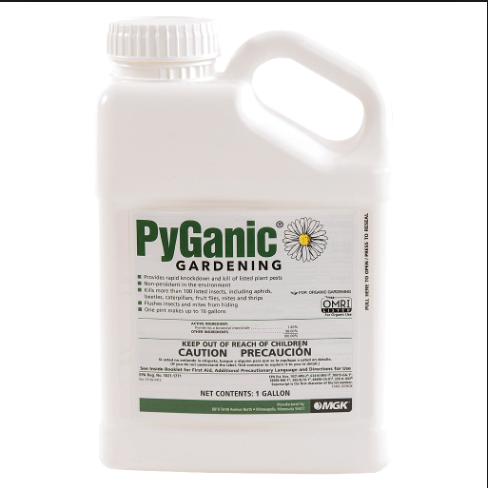 PyGanic Gardening Insecticide MGK 32 128 oz Organic ...