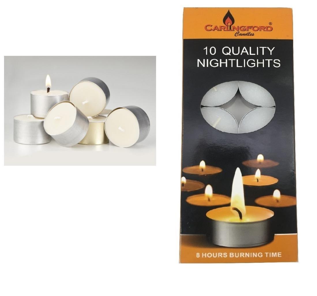 Tea night lights candles 8 hour long burn