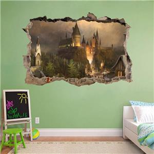 Star Destroyer Smashed Wall Decal Removable Wall Sticker Art Star Wars Ship H286