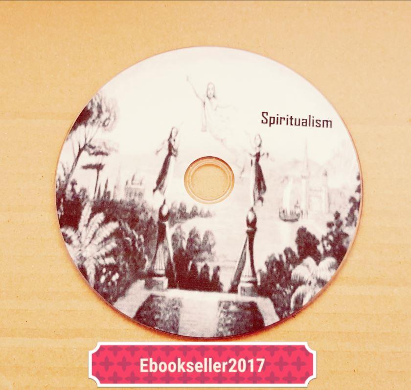 spiritualism around 170 pdf ebooks on disc for PC Premonition parapsychology