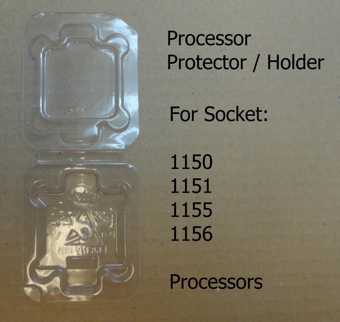 Intel Socket LGA 1150 1151 1155 1156 CPU Case Holder Protector Cover