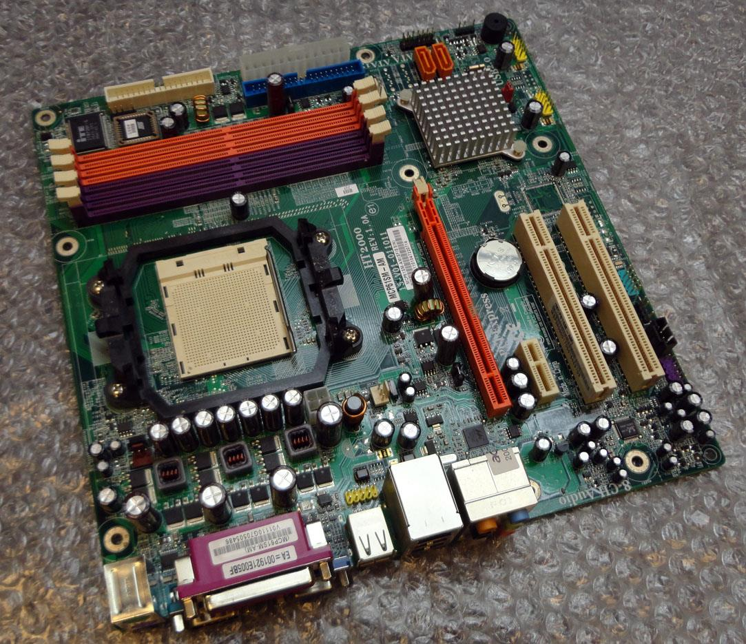 Acer Aspire T180 Socket Am2 Motherboard Mcp61sm