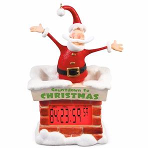 Hallmark 2016 Countdown to Christmas Santa Countdown Clock ...