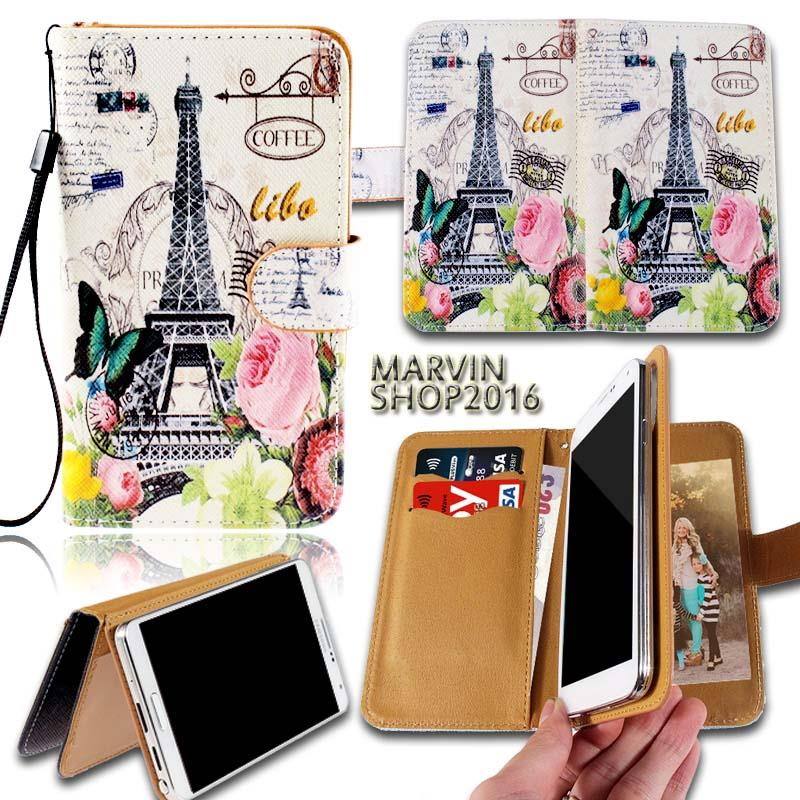 Leather Wallet Stand Magnetic Flip Case Cover For Various ...