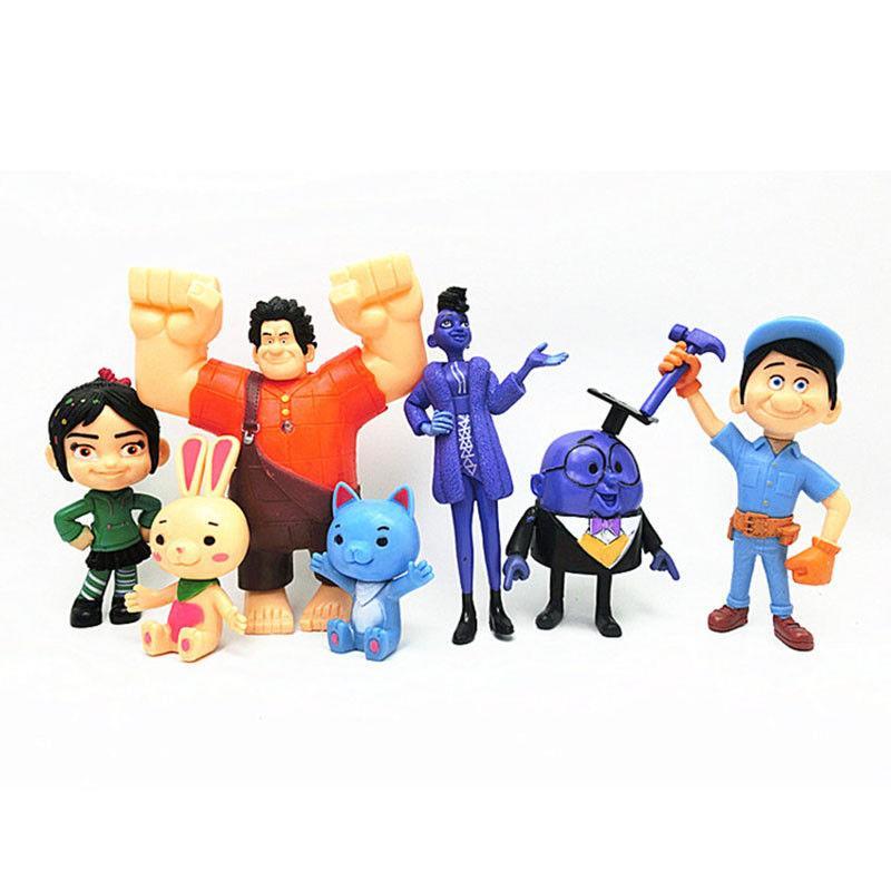 Wreck-it Ralph 2 Breaks the Internet Fix-It Felix Jr Action Figure Toy Doll Gift