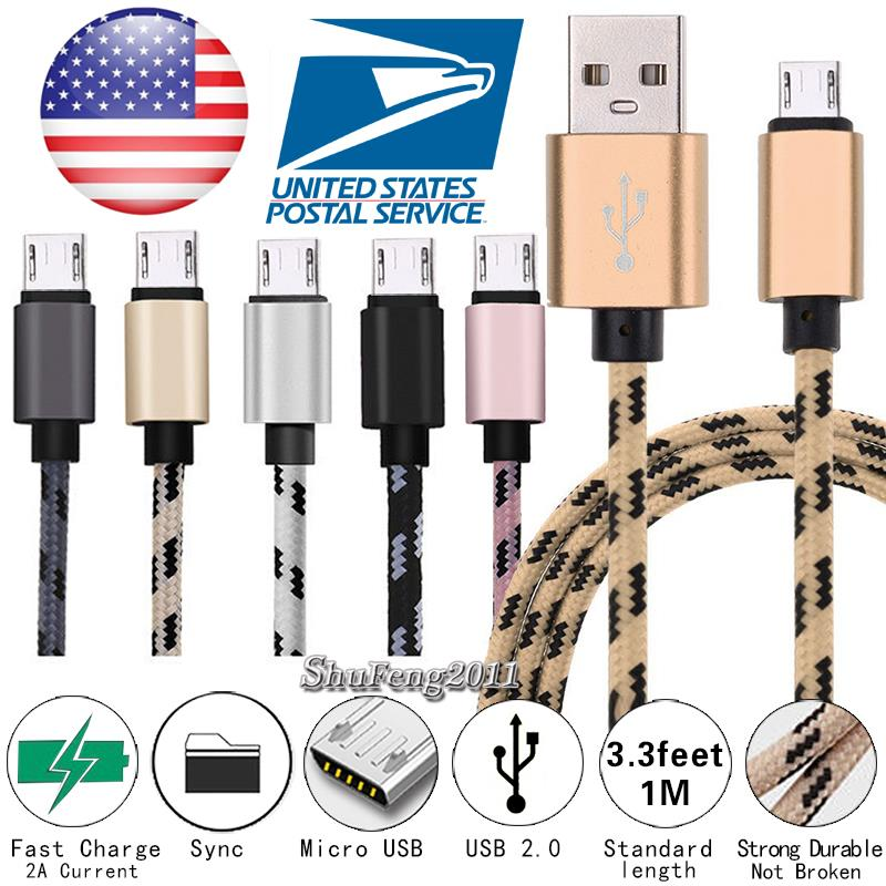 Details about Micro USB Charging Phone Data Sync Charger Cable For LG Stylo  3 / 3 Plus