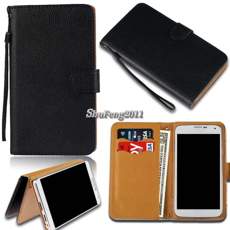 Leather-Wallet-Stand-Magnetic-Flip-Case-Cover-For-Various-Zopo-ZP-Series-Phones