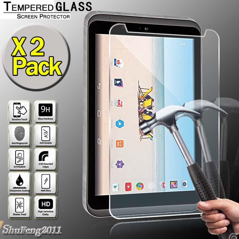 2 Pack Tempered Glass Screen Protector For LG G pad 2 II 8.3 LTE Tablet