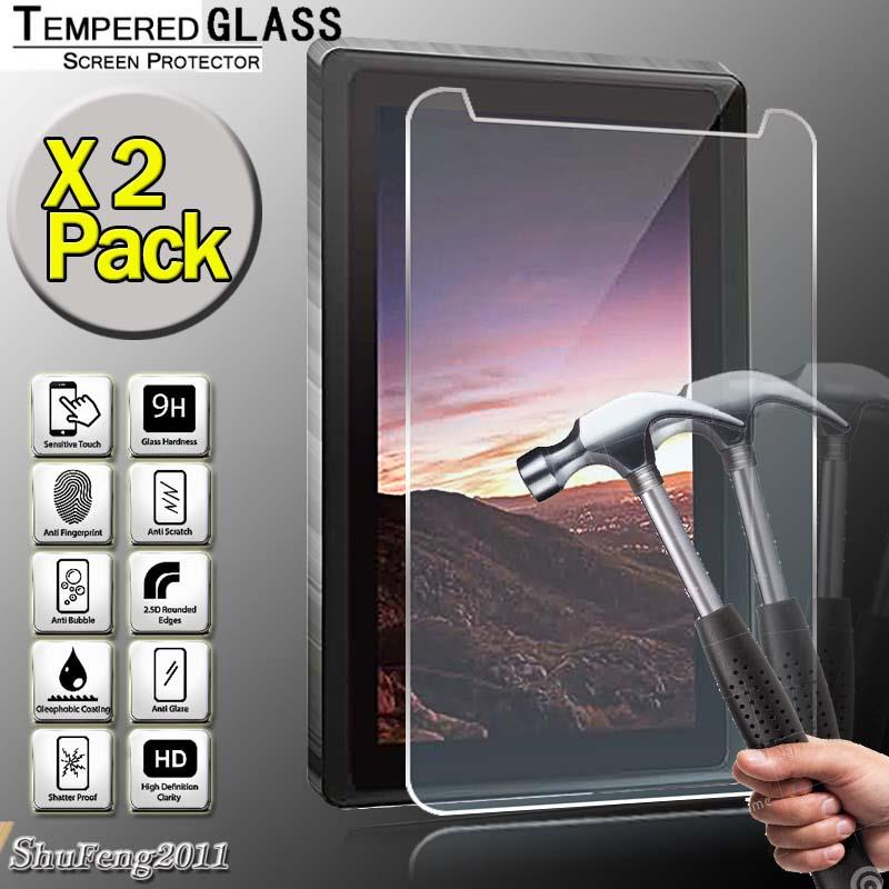 """Tempered Glass Screen Protector For IRULU X2c 7/"""" Tablet"""