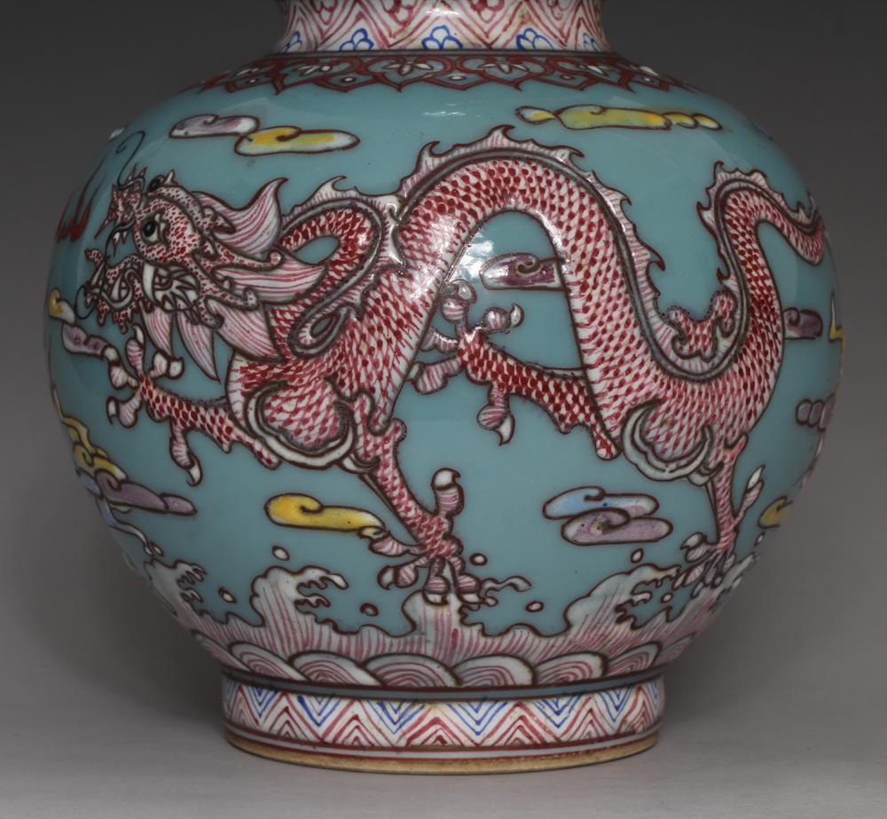 Pair Fine Antique Chinese Qianlong Mark Famille Rose Vases Porcelain Ebay