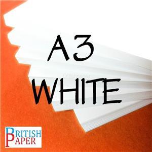 A6 A5 A4 A3 A2 Bianco CARD VUOTA Craft fare scorta di CARTA SPESSA STAMPANTE di cartone