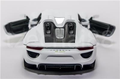 Blechspielzeug WELLY NEX~Porsche 918 Spyder Concept~Scale Model~1:34~NEU