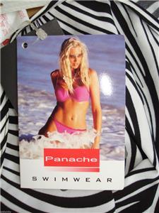 1893a78f28a16 Panache Swimwear Zambia Tie Side Bikini Pants SW0095 Size 14 Black ...
