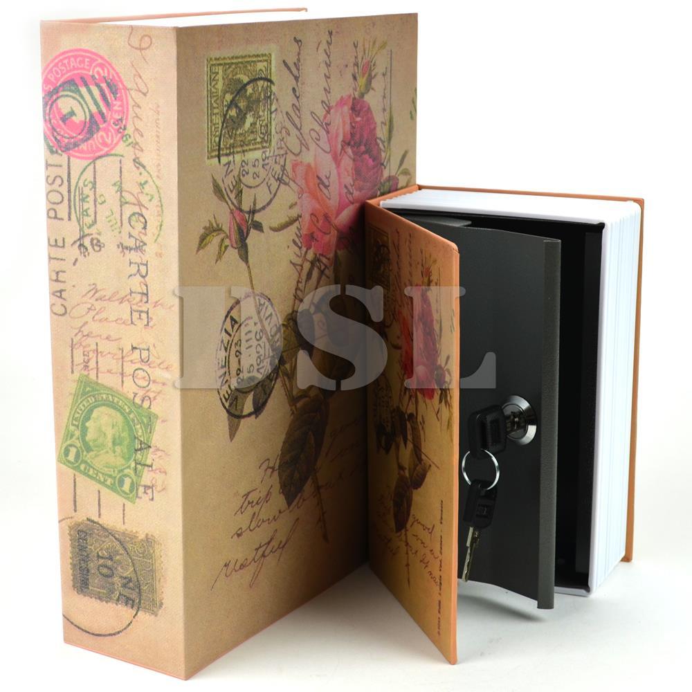 Homesafe Real Book Safe Key Combination Metal Security