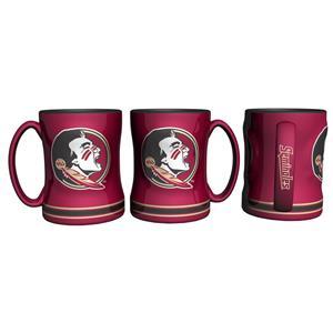 Single Mug 15oz Sculpted Florida State Seminoles NCAA Coffee Mug