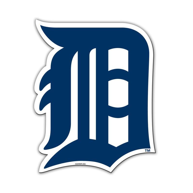 Detroit Tigers 12 Inch Car Magnet  MLB Decal Emblem Truck Au