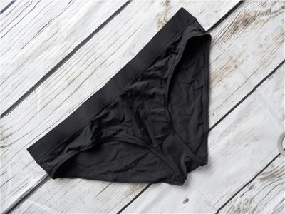 M K38 New Monki Mix /& Match Black Hipster Bikini Bottom UK Size  UK 12