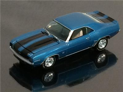 Details About 1969 69 Chevrolet Camaro Ss 350 V 8 Muscle Car 1 64 Scale Limited Edition Q19