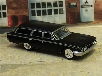 4th generation 1960 1964 kustom ford country squire wagon 1 64 Dodge Kustom 4th generation 1960 1964 kustom ford country squire wagon 1 64 scale lim ed a3