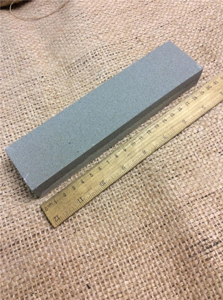 Silverline 228560 Aluminium Oxide Combination Sharpening Stone 200 x 50 x 25mm